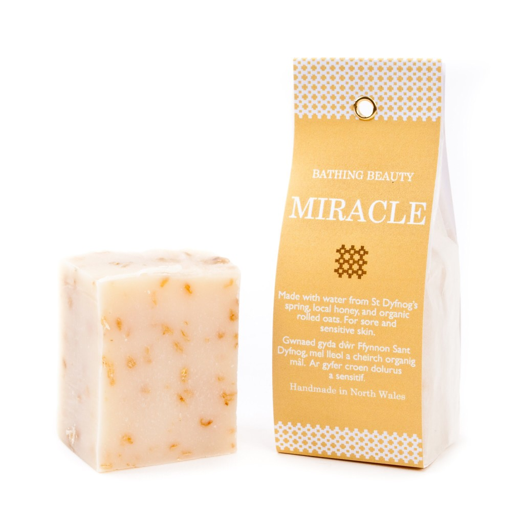 Miracle handmade oat and honey soap