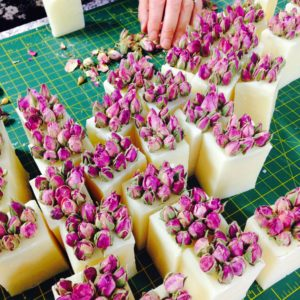RoseBud Super luxe rose and Shea butter soap