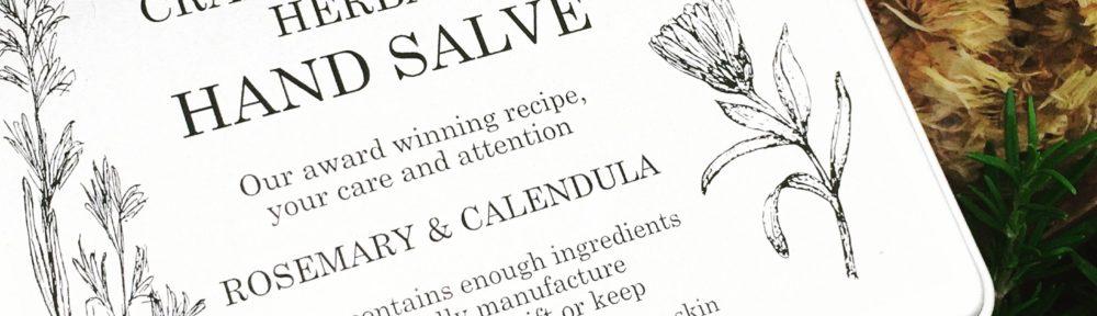 craft your own herbal handsalve gift tin