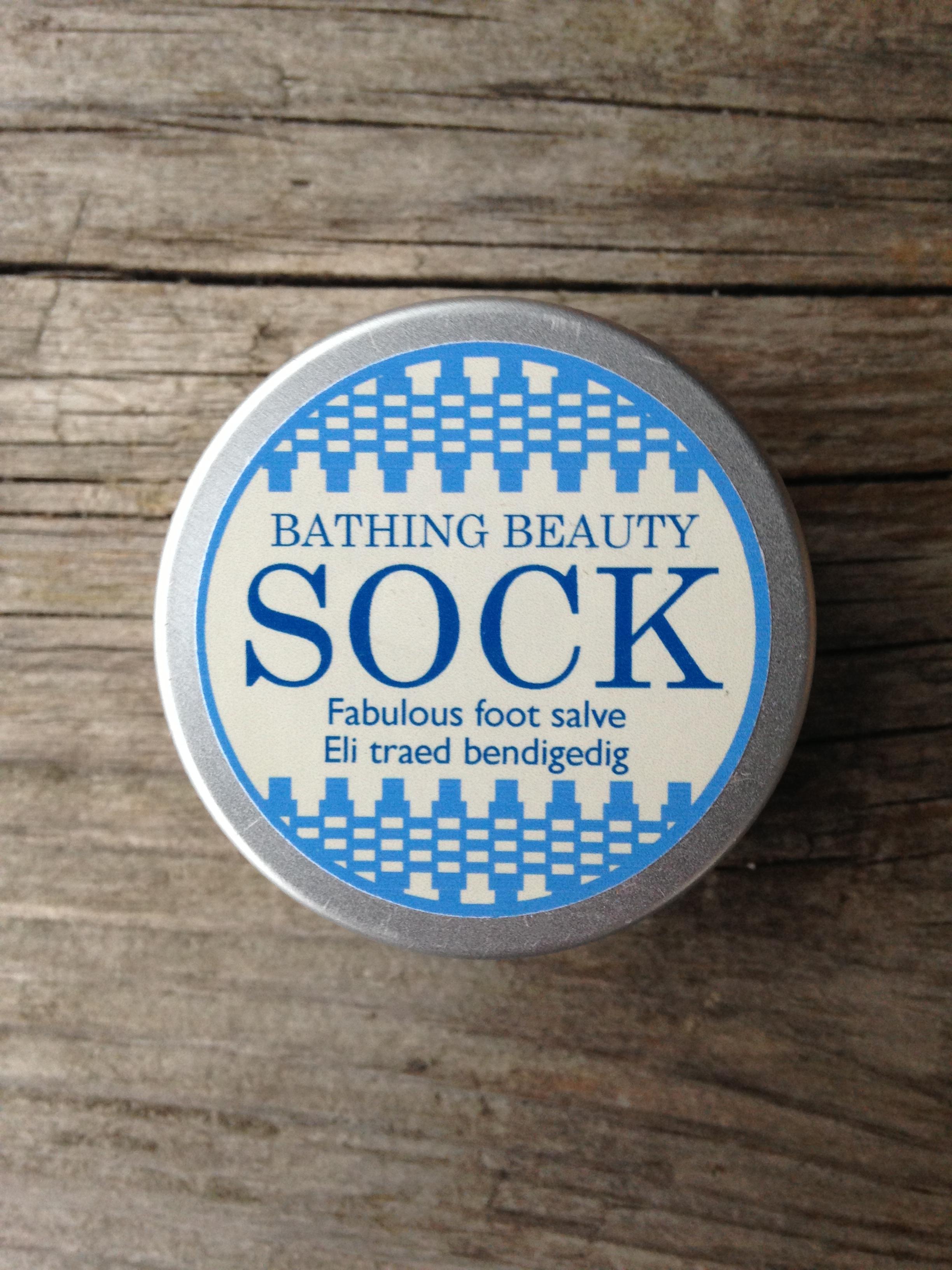 supernourishing foot salve with skin healing, moisturising and odour control properties