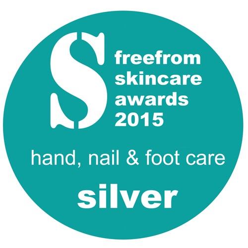 Silver Award FreeFrom Skincare Award