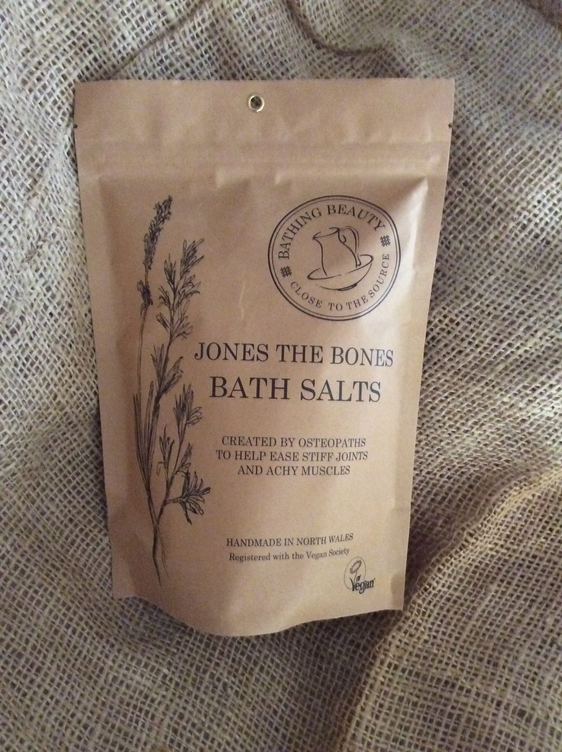 Jones The Bones Bath Salts.