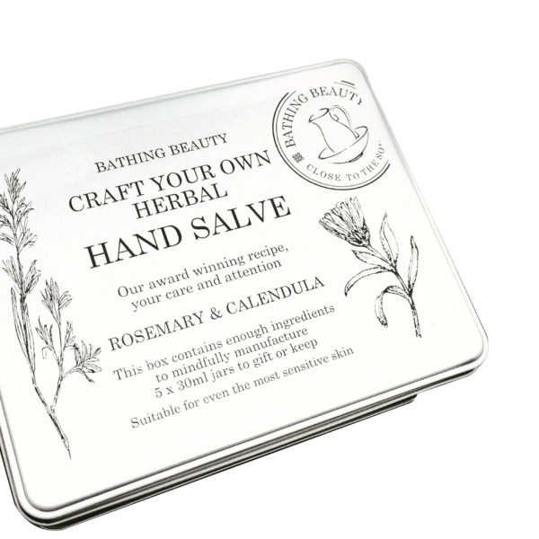 Craft your own herbal hand salve