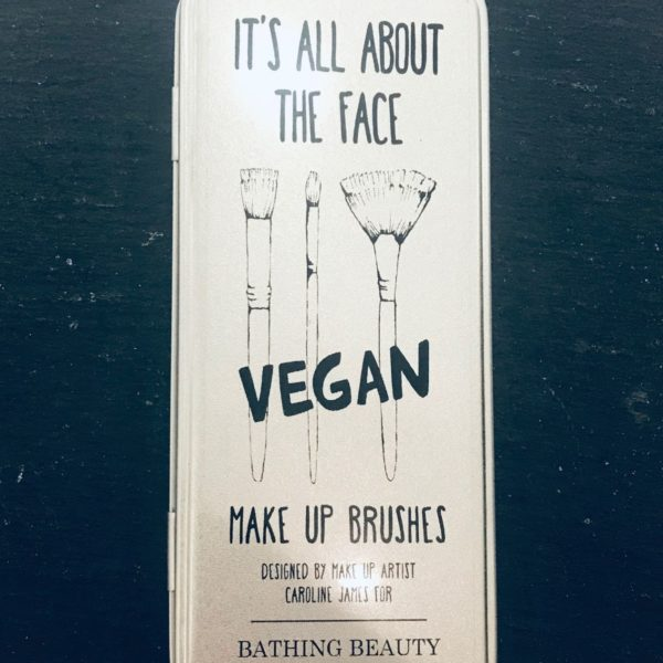 It's All About The Face Vegan Make-Up brushes