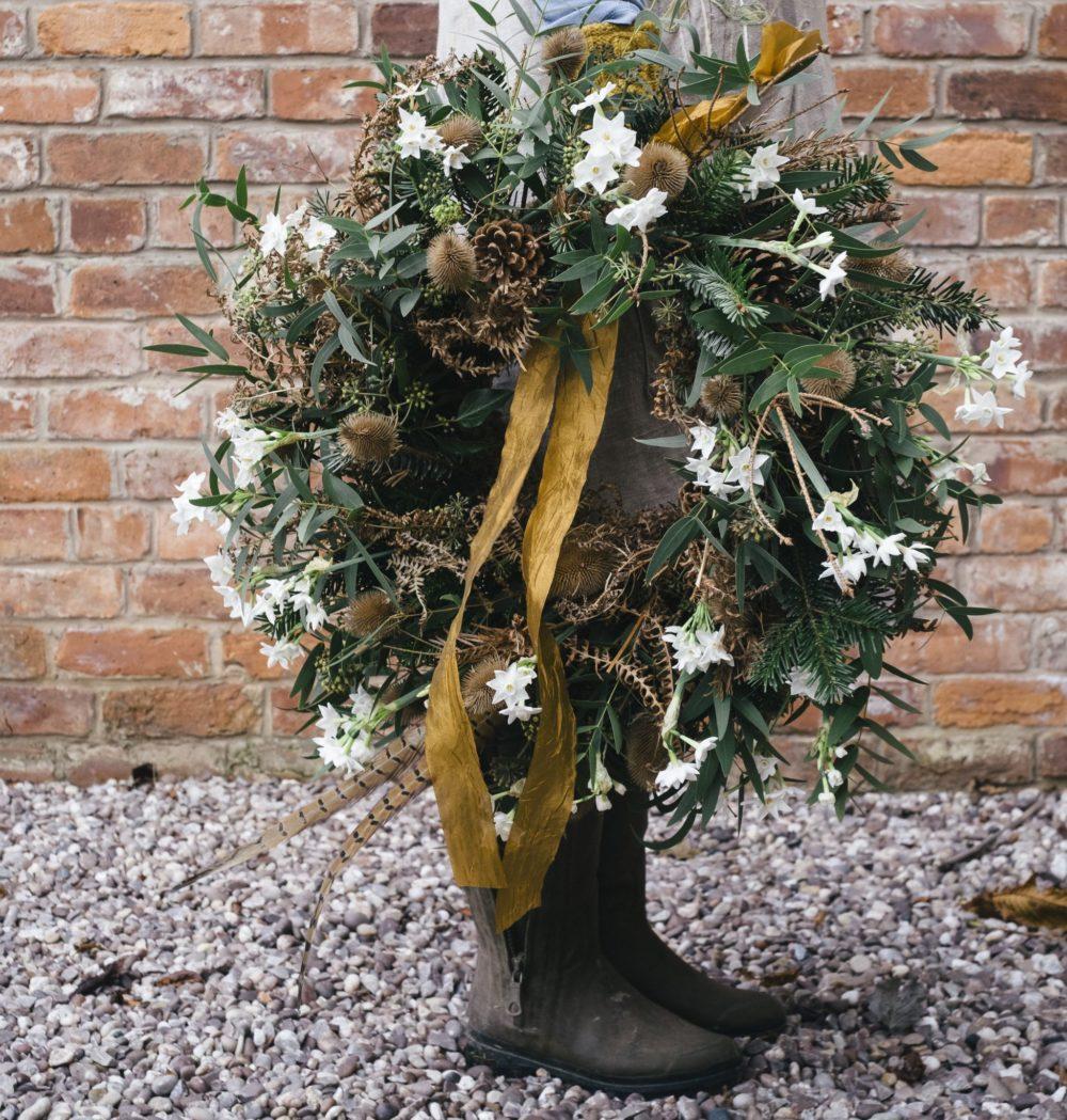 Sustainable Christmas Wreath