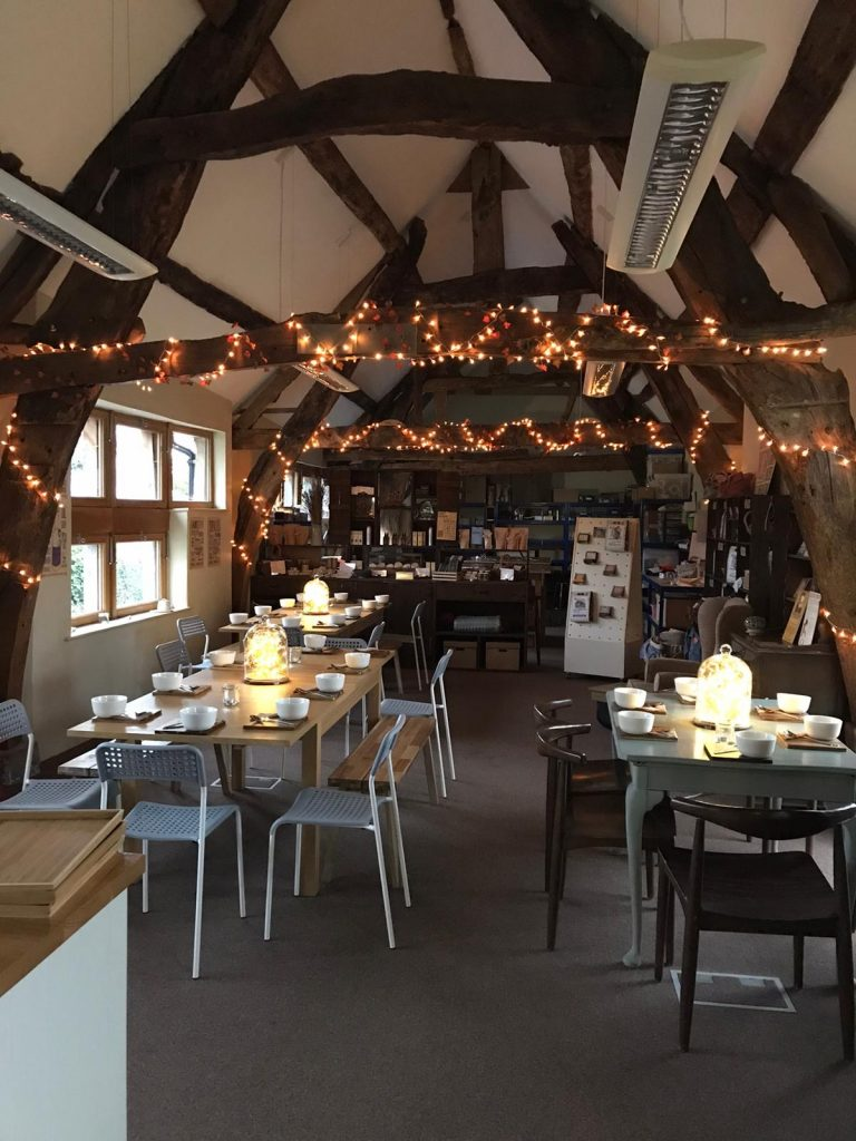 An interior shot of our Happiness Cafe
